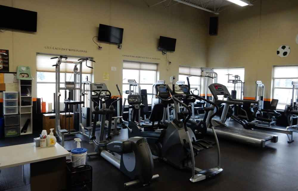 West Salem Community Fitness Center Cardio Machines