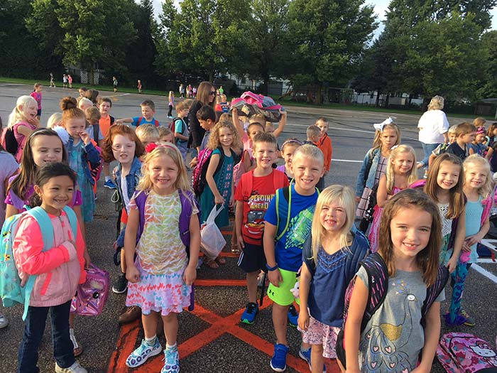Our elementary students are full of smiles and ready for another great year!